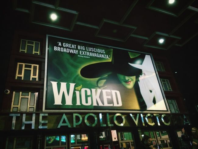 Wicked Musical London Traveling