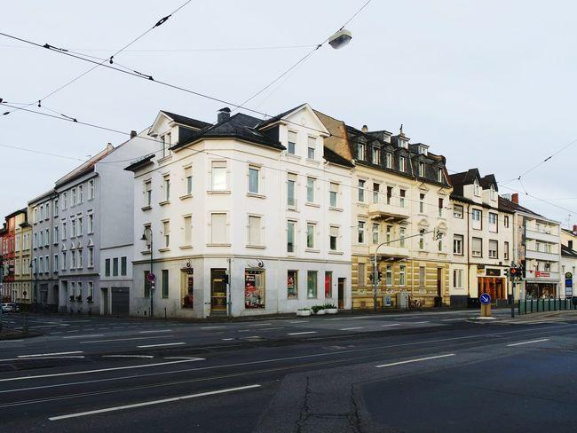 Bessungen in Darmstadt ,luckily not destroyed in the w.w.2... Urban Street Life Cityportrait
