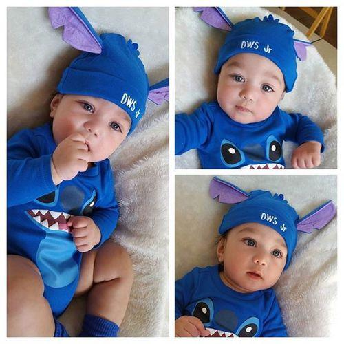 Happy Halloween! Danieljr BlueEyes Babyboy Disney Stitch Liloandstitch Costume Mamasboy Lilo_and_stitch Blue Baby Handsome Firsthalloween Cutebaby Babymodel Brandrepsearch Disnerd Collage