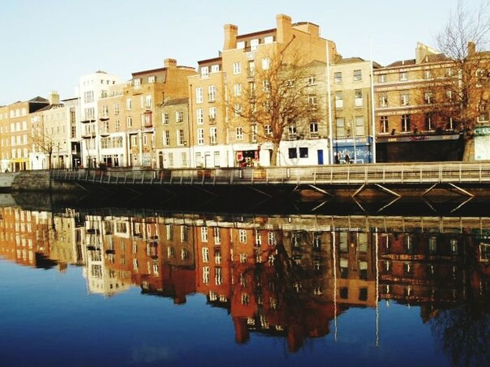 Dublin Dublin Street Photography Water Reflections Liffey Ireland🍀 Ireland River Building Buildings
