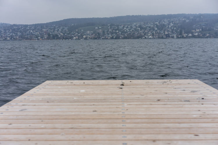 wood pier and