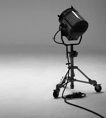 Big studio lights for video movie or film production which heavy weight and stand on special strong metal tripod for crew team and tvc director adjust by client and agency order. Absence Arts Culture And Entertainment Camera - Photographic Equipment Close-up Communication Copy Space Digital Camera Electric Lamp Equipment Indoors  Lighting Equipment Man Made Man Made Object No People Photographic Equipment Photography Themes Still Life Studio Shot Studio; Photography; Film; Light; Photo; Equipment; Set; Background; Production; Big; White; Video; Flash; Camera; Movie; Technology; Professional; Tripod; Spotlight; Shoot; Lighting; Fashion; Reflector; Box; Strobe; Lamp; Black; Photographic; Spot; Image Technology Tripod Wall - Building Feature