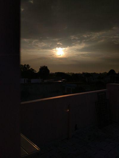 Sunrise Photography Sun Sun Sunset Sky Window Transportation Cloud Cloud - Sky Dark Outdoors First Eyeem Photo