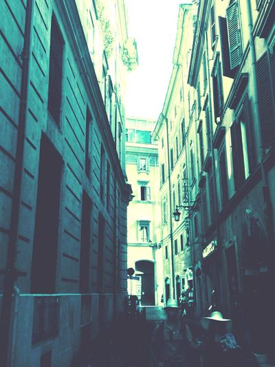 Photo of a Street , yea, again. Yesterday. Rome