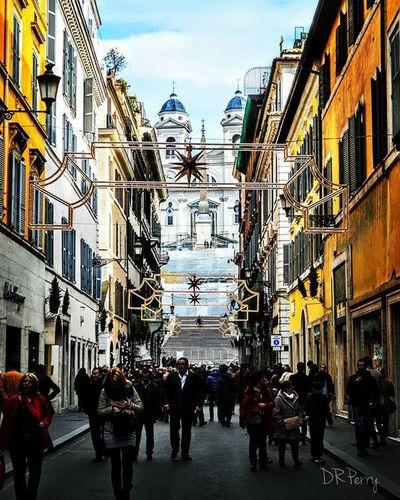 """Spanish Steps in View"" Rome Roma Italy Italia Street Noidiroma Photobydperry Repostromanticitaly Lazio Incredible_italy WP Europe Topeuropephoto Top_italia_photo Ig_lazio Spanishsteps Myrome"