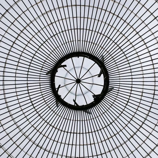 Low Angle View Backgrounds Full Frame Pattern Concentric No People Indoors  Built Structure Architecture Day Sky Close-up EyeEm Best Shots