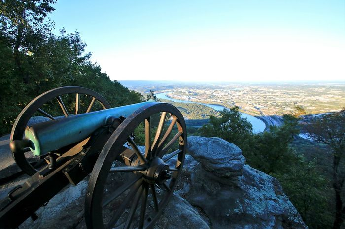 Lookout Mountain Cannon Overlook Exploring Nature Natural Beauty Naturelovers Nature Photography Hiking Adventures Mountain Hiking Hikingadventures Adventure Enjoying Life Life In Motion Tennesee Sky Tennesee River River View River Bend Cityscapes Cityscape Cliff Envision The Future