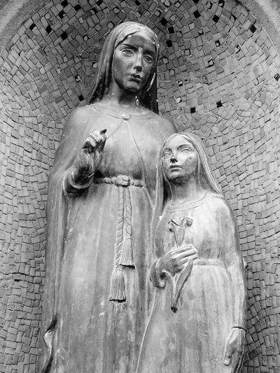 St Ann's Well Statue Bronze Sculpture Well Spring