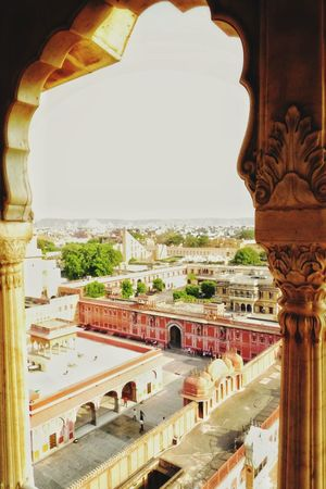 City Palacy Rooftop Jaipur India City Palace Jaipur India Royal Palace Bird's Eye View The Beautiful Jaipur Beauty In Rajasthan @gpmzn Leica Photography Shot On Leica!! EyeEm Best Shots Sunset Scenery Dawn Dusk Place Of Worship Ancient History Fort Palace Fortified Wall Castle Fortress Ancient