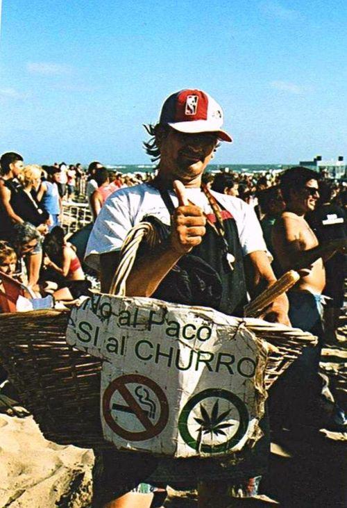 Drugs Beach Eyeem Argentina Churros Facturas