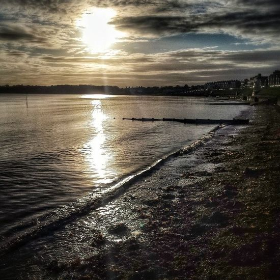 Beautiful ballyholme beach this morning. Yes, morning. I did have to Google what happened that early as I wasn't sure...