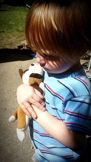Capture The Moment Sweetboy Kiddo Hugs Stuffedanimal Snapshots Of Life