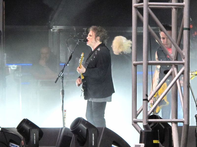 robert smith Photography Concert The Cure