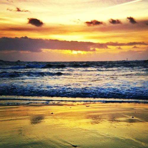 Sea Sunset Beautiful Sky