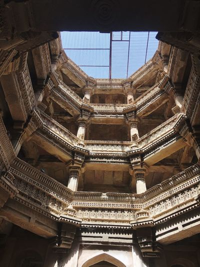 Detailing at its finest Adalaj Indian Culture  Gujarat Built Structure Architecture Travel Destinations Building Tourism Architectural Feature Pattern Travel First Eyeem Photo