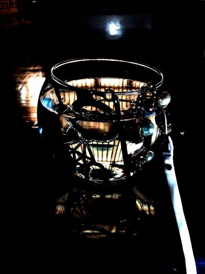 Crystal Clear Fish Bowl Mobile Case Water Reflections Diamond Photography Handmade Jewellery ArtPop Artist Light And Shadow