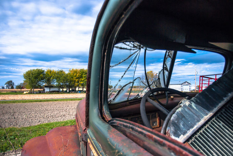 Retired Ford Truck Broken Window Ford Ford Truck FordTruck Old Truck Old Trucks Old Fords Are Awesome Old Ford Antique Truck