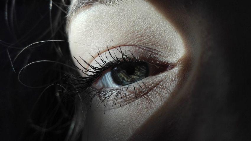Human Eye Eyelash Close-up Human Face Sadness In Eyes First Eyeem Photo Eyeem Closeup First Eyeem Photo EyeEmNewHere BYOPaper!