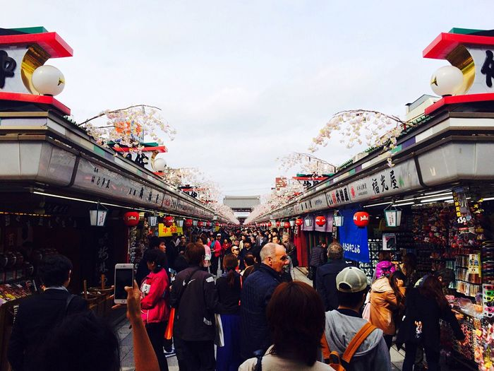 Shopping Street in Tokyo Japan Asakusa Temple IPhoneography Enjoying Life EyeEm Best Shots Perspectives