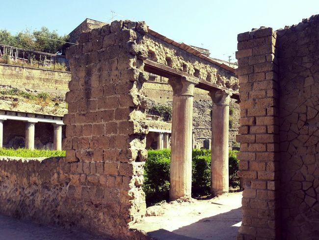 Ercolano (Napoli) Ancient Civilization Archeology Architecture ArtWork Ercolano History Monuments Mosaic Art Pompeiscavi