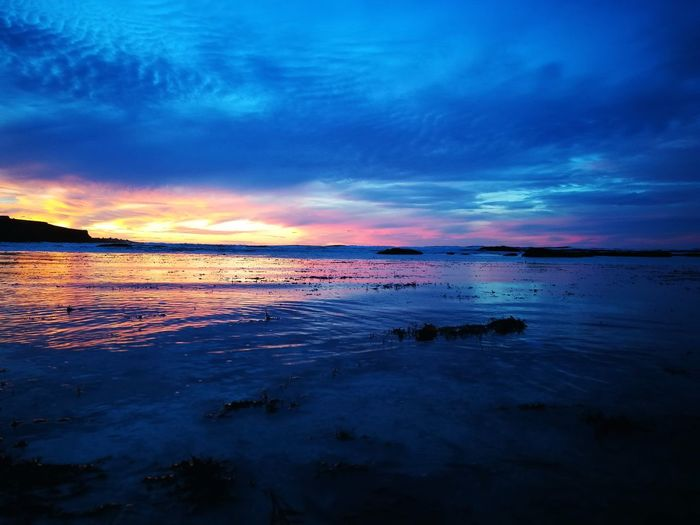 Landscape Scenics Low Tide Outdoors Red