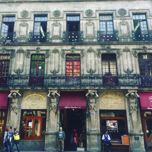 Architecture Mexico City DowntownMexicocity CDMX. Centrohistorico Mexico Streets Real People Real Places