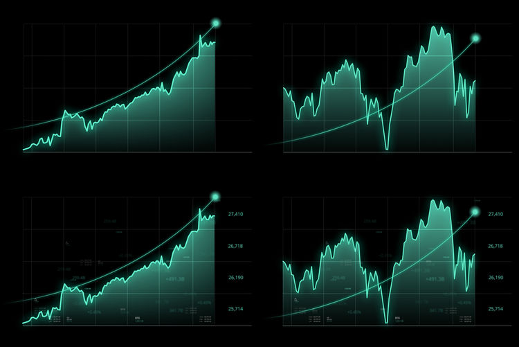 Stock graphs or