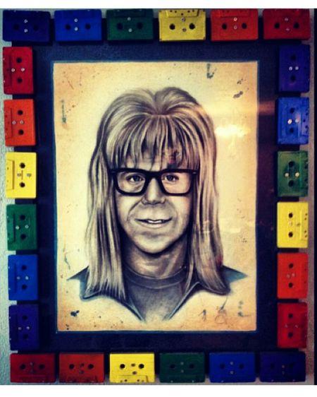 Waynesworld Garth Texas Street Portrait People Around You Street Art Imperfection Deathwish