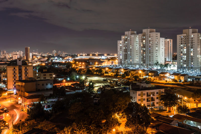 Night view of Campinas, SP in Brazil Apartment Architecture Building Building Exterior Built Structure City Cityscape Cloud - Sky Crowd Crowded Glowing High Angle View Illuminated Modern Nature Night Office Building Exterior Outdoors Residential District Sky Skyscraper HUAWEI Photo Award: After Dark