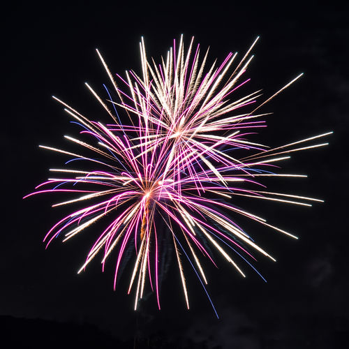 Fireworks display over Eugene, Oregon July 4th, 2016 Arts Culture And Entertainment Celebration Celebration Event Entertainment Event Exploding Firework Firework - Man Made Object Firework Display Glowing Illuminated Motion Multi Colored Night No People Outdoors Sky Sparks