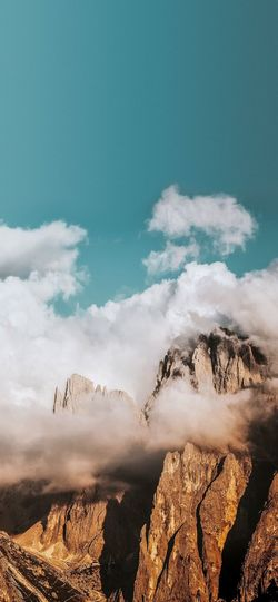 High tops ⛰🌊 Sky Cloud - Sky Nature Land Beauty In Nature Day Water