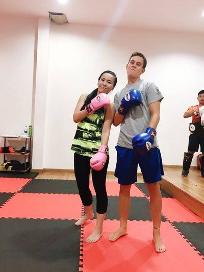 Enjoying Life Healthy Lifestyle Excercise Time Thai Boxing  Thaiboxing  Relaxing