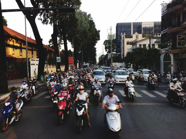 ホーチミン バイク Bike Ho Chi Minh Summer2015 Summervacation