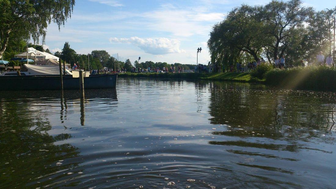 ein wenig mit dem Boot heute unterwegs gewesen Lovely Weather