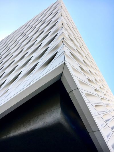 Built Structure Architecture Building Exterior Low Angle View No People Day Outdoors Sky Corner DowntownLA Down Town Los Angeles The Broad