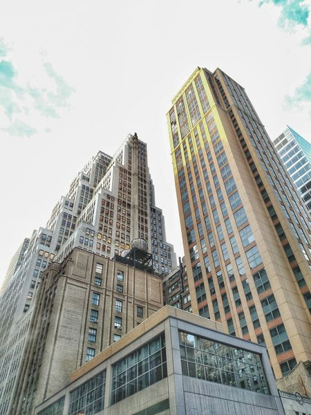 Manhattan NYC NY Newyorkcity New York City Urban Urban Geometry Urban Landscape New York City Geometric Shapes Lookingup Skyscrapers Buildings Architecture HDR Lines Metropolis Skyline Cityscapes City Lights My City City Skyline Highness Sky