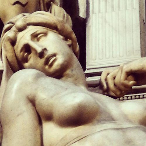 Florence Italy Cappellemedicee Aurora Scultura Statue MichelangeloBuonarroti Arte Sculpture Italy🇮🇹 Cultura