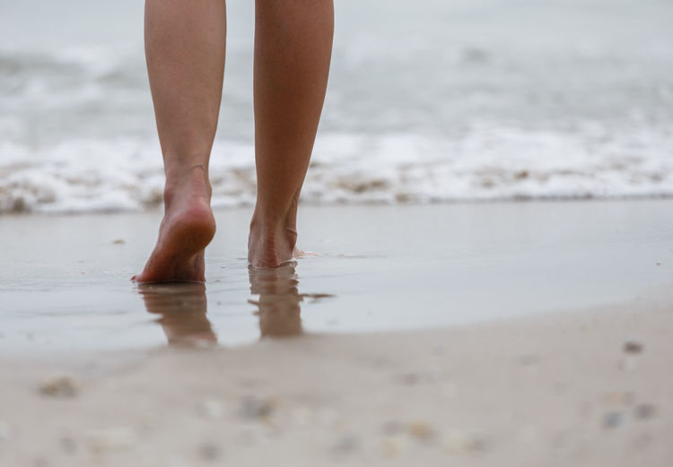Beach Sand Feet Foot Travel Female Sea Golden Woman Walking Walk Summer barefoot Vacation Water Lifestyle Ocean People Beautiful Legs person Tropical Landscape Nature Hawaii Relaxation Seaside Coast Relax Footprints FootPrint Step Women Leisure Footstep Outdoor Seashore Holiday Closeup