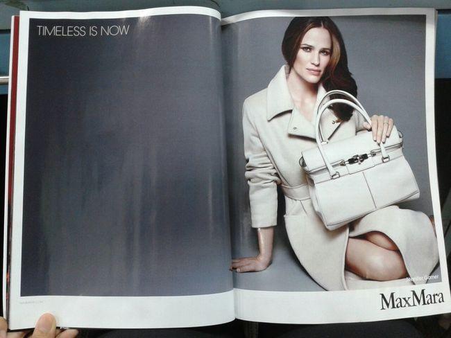 Jennifer Garner Elle Magazine Maxmara