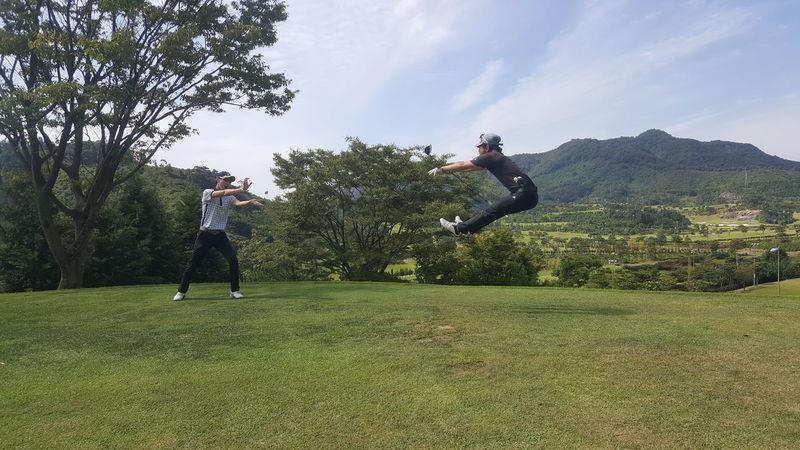 Sky People Club Golf Ball Golfer ThatsMe Thats Me  EyeEm Best Shots Korea Butiful♥ 무등산 Cc