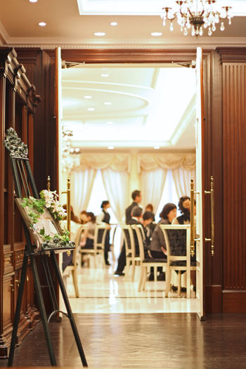 Wedding Photography Wedding Reception Cerebration Cheerful Group Of People Indoors  People Togetherness