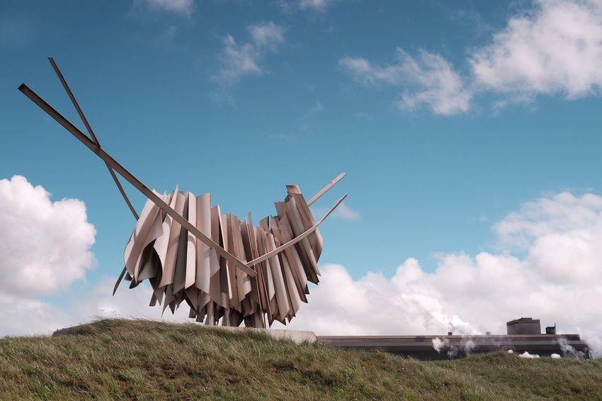 Art; Beelden Van Staal; Wijk Aan Zee