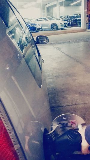 Meanwhile at the Gas Station GTR R-35 ♡.....