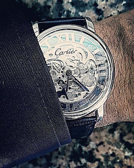 Cartier Sapeurspompier Montre Zoom