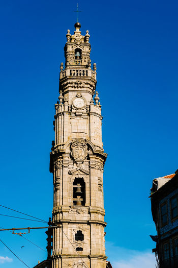 Built Structure Architecture Building Exterior Low Angle View Sky Tower Blue Religion Building Belief Nature Place Of Worship Spirituality Travel Destinations Clear Sky Day No People Tall - High Clock Outdoors Spire