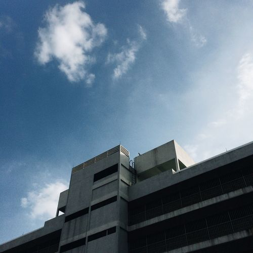 Architecture Building Exterior Cloud - Sky Built Structure Low Angle View Modern No People