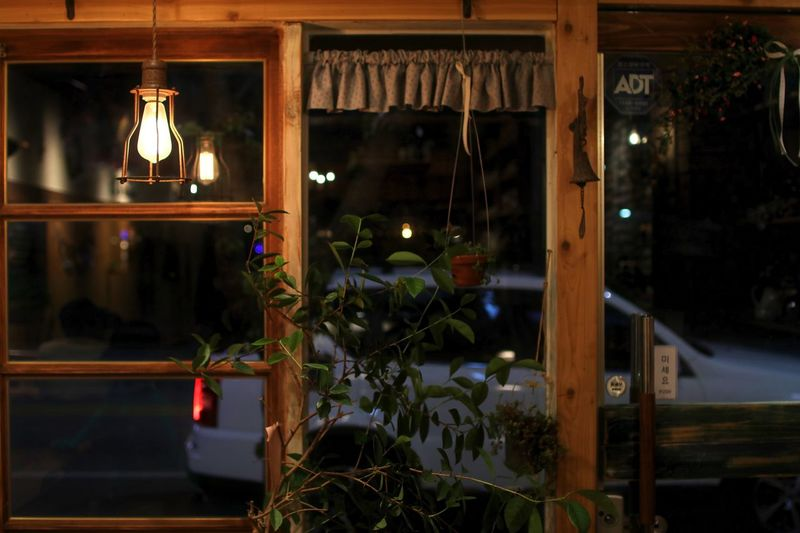 Illuminated Indoors  No People Hanging Store Night Light Bulb