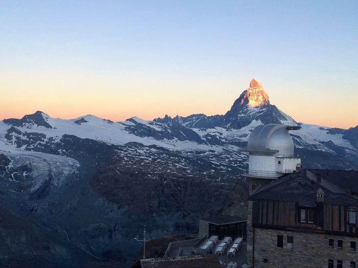 Zermatt Sunrise Sunrise On The Mountain Swiss Alps 3100 Kulmhotel Summit Summit View Gornergrat The Great Outdoors With Adobe