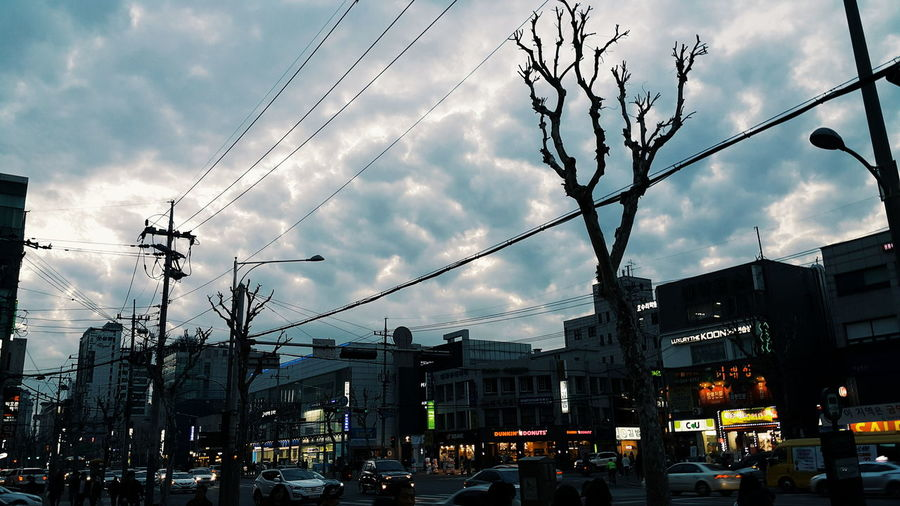 Cotton Candy Cloud Cloudy Asian Street Street Street Photography Gangnam Gangnam Sky Busy Street Sky Sky And Clouds Galaxynote4 Seoul South Korea