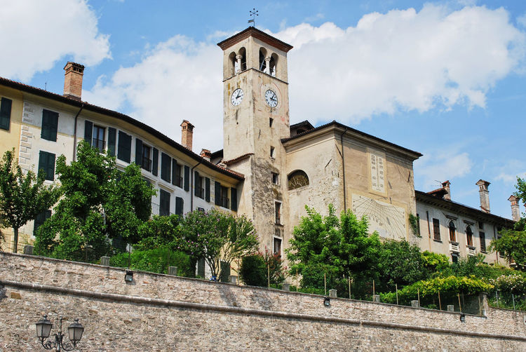 San Giacomo church - Feltre, Belluno, Italy. Belluno Feltre Italia San Giacomo Travel Architecture Bell Tower Building Exterior City Clock Clock Tower Cloud - Sky Europe Italy Low Angle View Old Outdoors Religion Religion Architecture Religious  Sky Tourism Travel Destinations Veneto